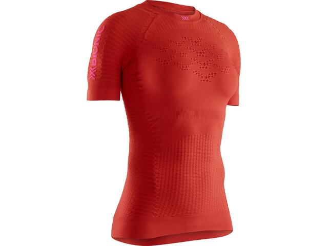X-Bionic Effektor G2 Koszulka biegowa z krótkim rękawem Kobiety, pomarańczowy